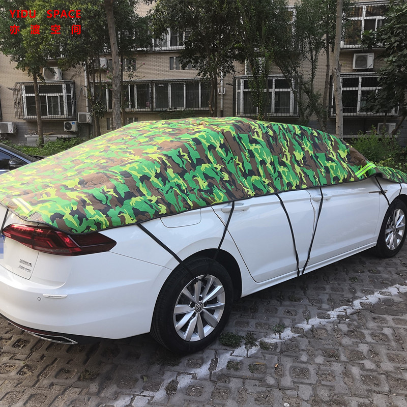 Hail Protection Car Cover >> Camouflage Silver 3 Layer Real Hail Protection Anti Snow