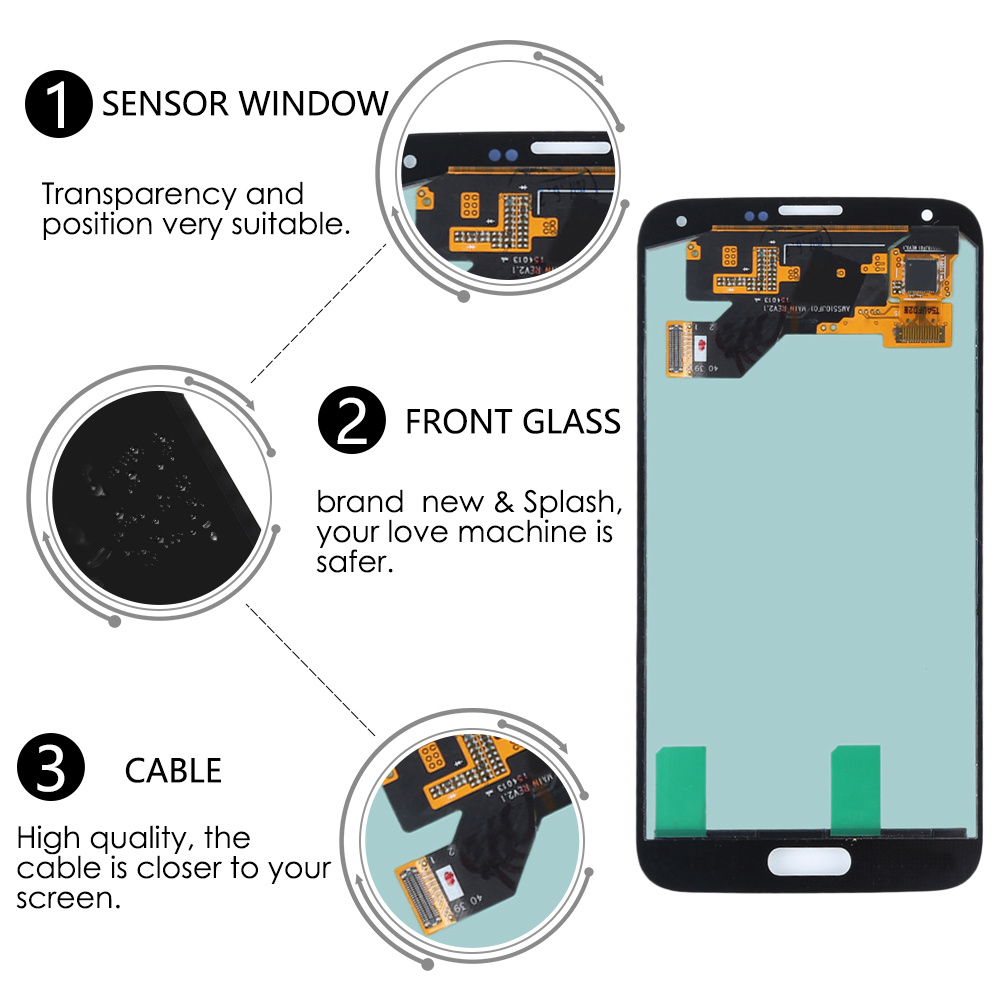 Amoled for Samsung Galaxy S5 Neo LCD Touch Screen Digitizer